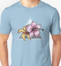 Tropical Flora Typographic Chill T-Shirt