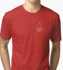 dana 24 white Tri-blend T-Shirt