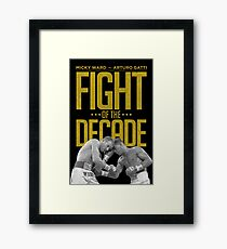 Fight Of The Decade Framed Print