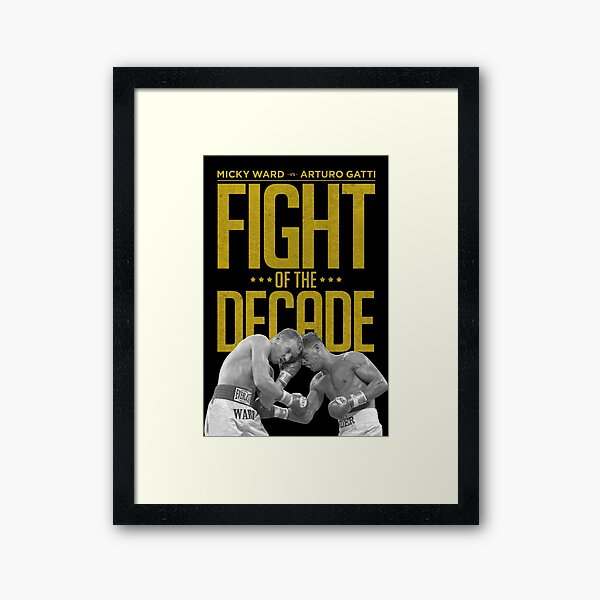Fight Of The Decade Framed Art Print