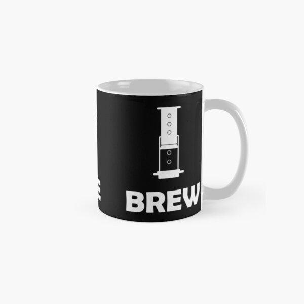 White Logo on Dark Background Classic Mug