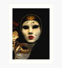 masque Art Print