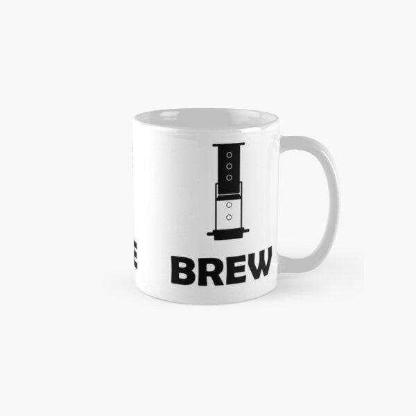 Black Logo on White Background Classic Mug