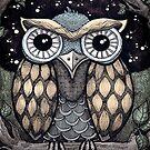 Owl ii  by Rosemary  Scott - Redrockit
