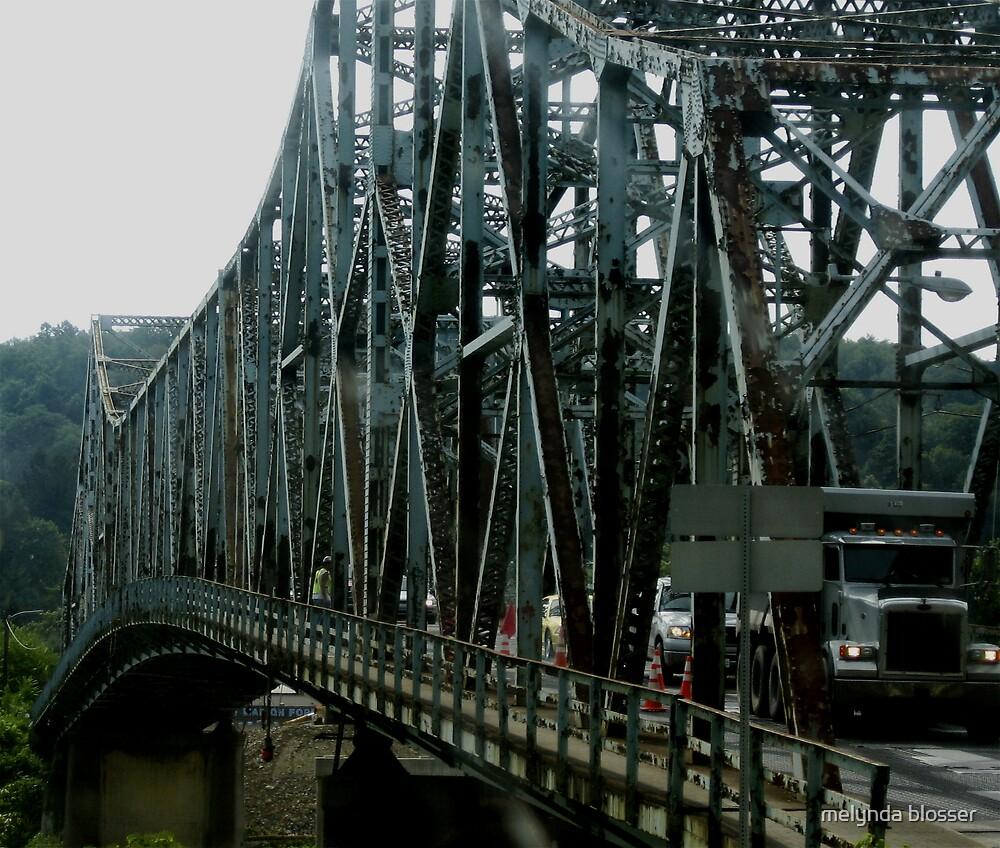 old road bridge by melynda blosser