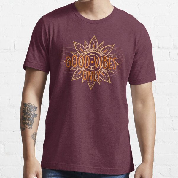 Good Vibes Only - Sun Essential T-Shirt
