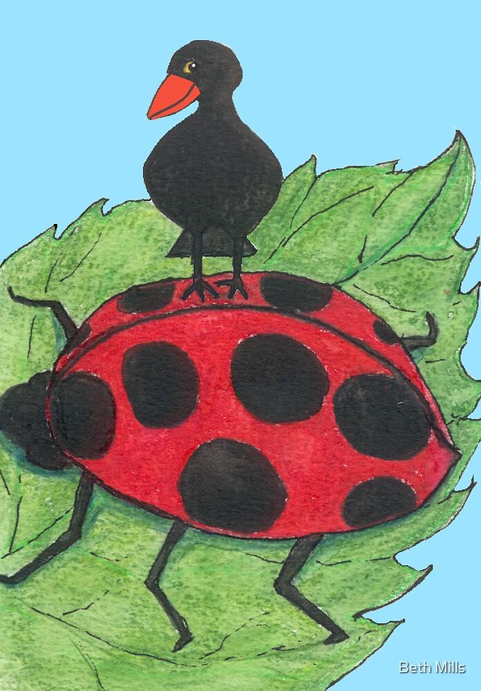 Is a ladybird bigger than a blackbird? by Beth Mills