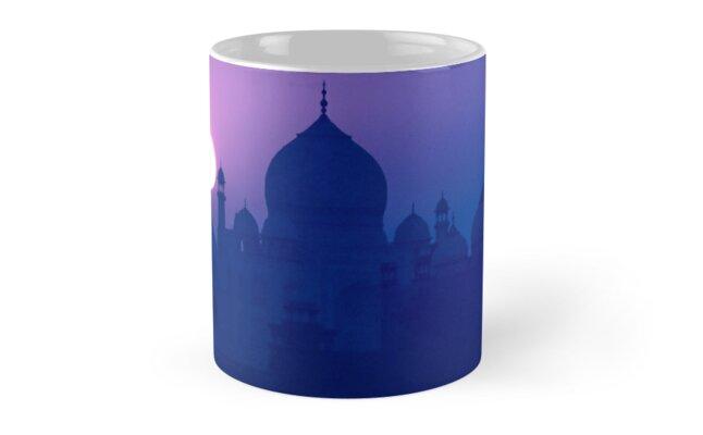 'Blue Taj Mirage' COFFEE MUG by Glen Allison