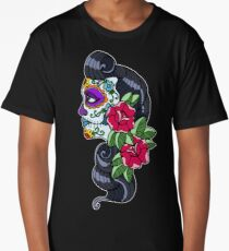 Day of The Dead Long T-Shirt