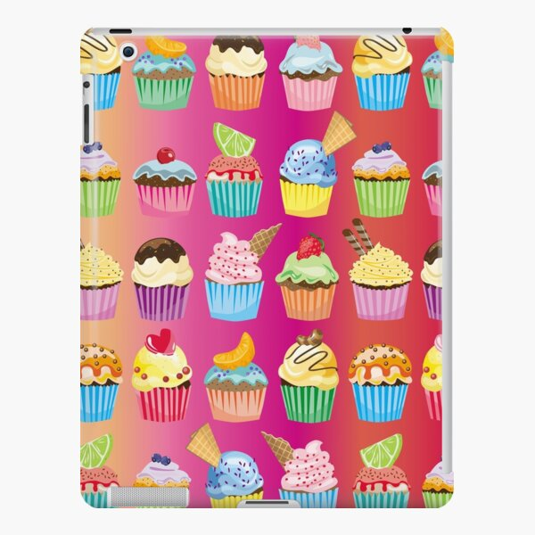 Cupcakes Galore Delicious Yummy Sugary Sweet Baked Treats iPad Snap Case