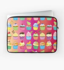 Cupcakes Galore Delicious Yummy Sugary Sweet Baked Treats Laptop Sleeve