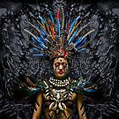 Feathered Tribal Princess by Glen Allison