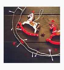 Festive Christmas composition Photographic Print