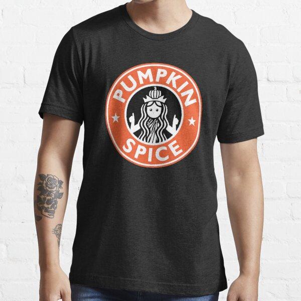 Pumpkin Spice Shirt Funny Coffee Lovers Latte T-Shirt Essential T-Shirt