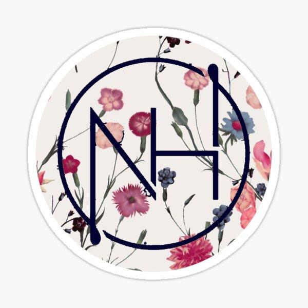 Logo floral de Niall Pegatina