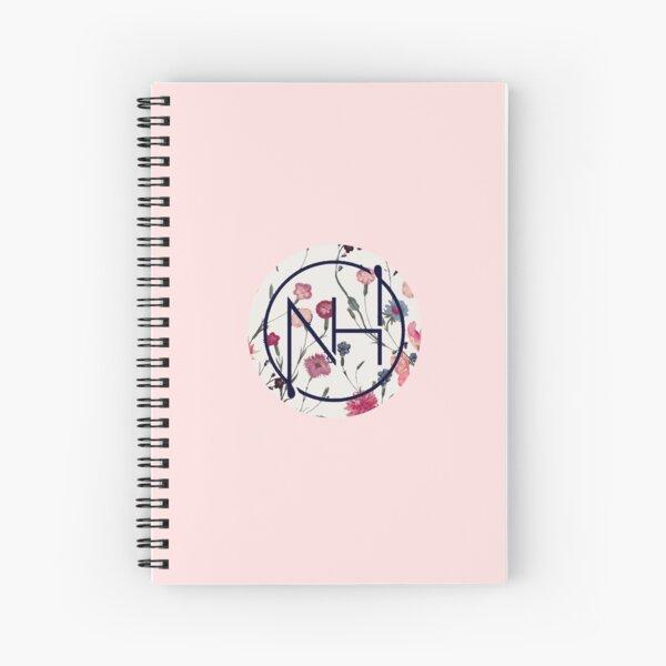 Logo floral Niall Cahier à spirale