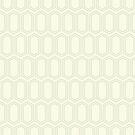 Elongated Hexagon Geometric Pattern (Line Dark on Light Neutral Grey) by KristyKate