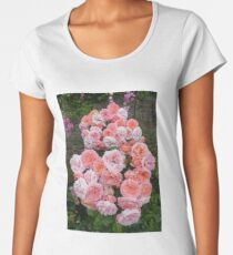 One Rose Cluster Women's Premium T-Shirt