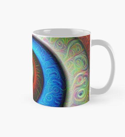 #DeepDream Color Fibonacci Visual Areas Mug