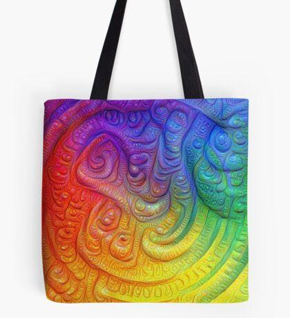 Color Foam #DeepDream Tote Bag