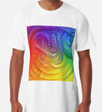 Color Foam #DeepDream Long T-Shirt