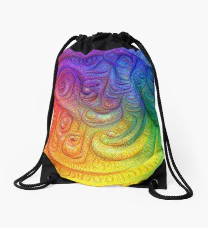 Color Foam #DeepDream Drawstring Bag