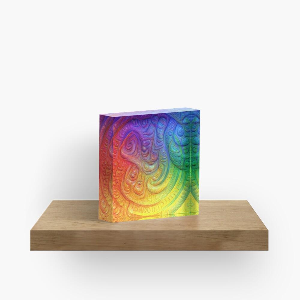 Color Foam #DeepDream Acrylic Block