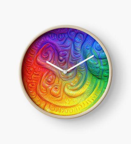 Color Foam #DeepDream Clock
