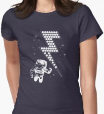 Spaceman Women's Fitted T-Shirt