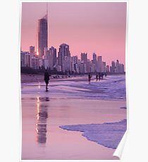 Gold Coast Reflections Poster