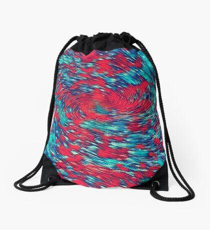 Color streams Drawstring Bag