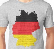 Germany Flag Map Unisex T-Shirt