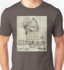 Cthulhu Sketch Lovecraft Horror  Unisex T-Shirt