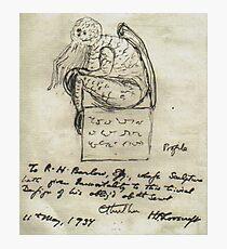 Cthulhu Sketch Lovecraft Horror  Fotodruck