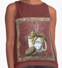 [Tea Cup Dragon] Coffee Contrast Tank