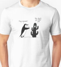 Penguin and Cactus Met T-Shirt