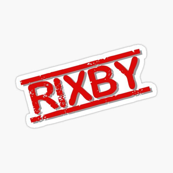 RIXBY Sticker