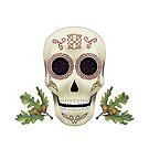 Knotwork Skull by tinkerpunk