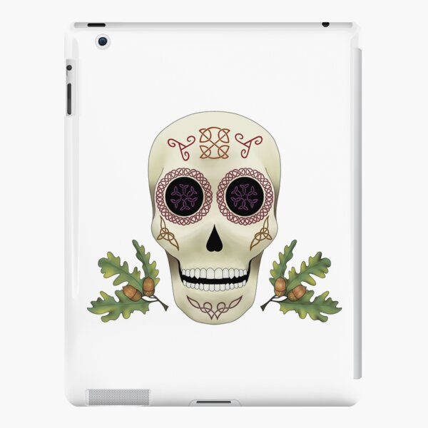Knotwork Skull iPad Snap Case