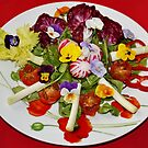 Flowery Salad by AnnDixon