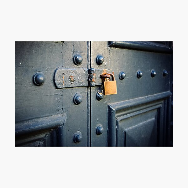 Locked! Photographic Print