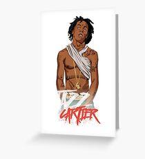 jazz cartier Greeting Card