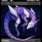 Scygon Elemental Card #10- Xenon by Lucieniibi