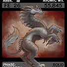Scygon Elemental Card #11- Iron by Lucieniibi