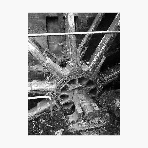 Waterwheel Photographic Print