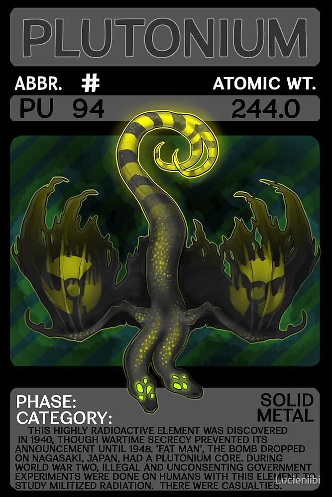 Scygon Elemental Card #12- Plutonium