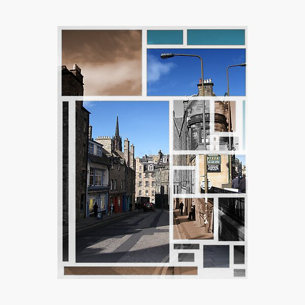 Candlemakers Row in Edinburgh Photographic Print