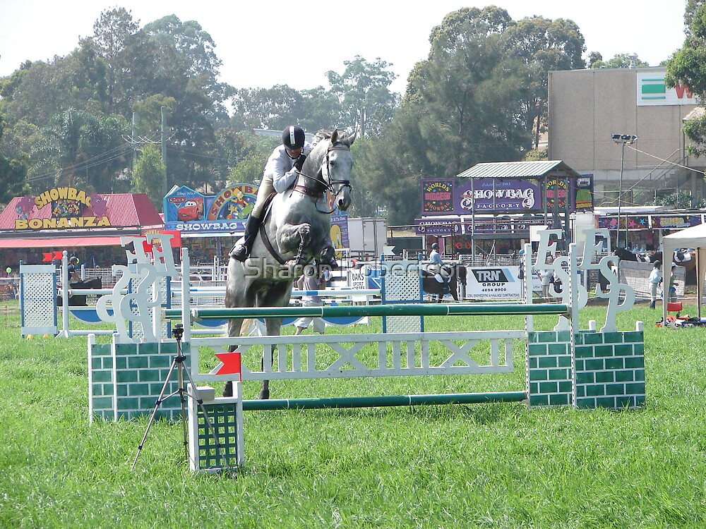 Show Jumping 3 by Sharon Robertson