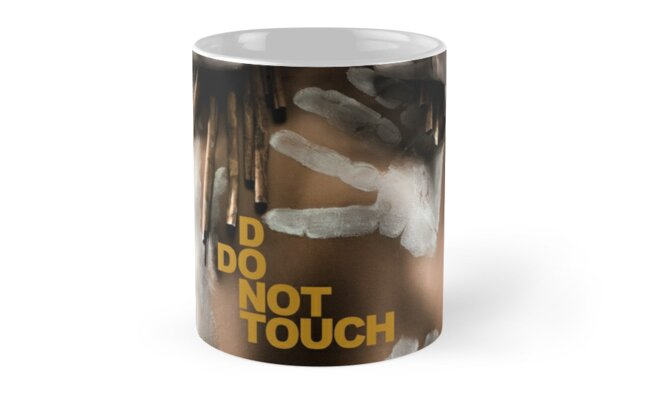Don't Touch | Do Not Touch - Mug by Glen Allison