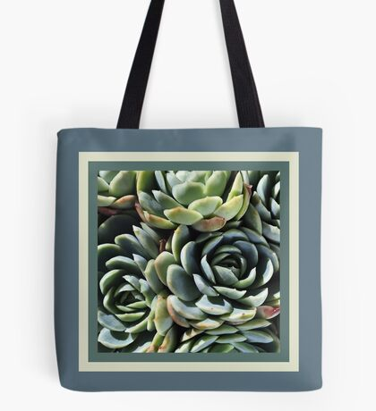 World Of The Succulent Tote Bag